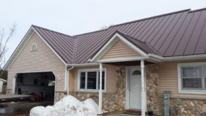House with Metal Roof & Siding
